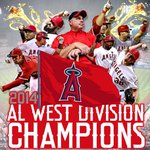 RT @Troutstanding: As lose!!! ANGELS ARE THE A.L WEST DIVISION CHAMPIONS!!! #REDOCTOBER #2014ALWestChamps http://t.co/Ojj0TVjJ1m
