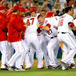 LIGHT THAT BABY UP! The @Angels are AL West CHAMPS! Heres how the West was won: http://t.co/7VIcufC3w8 http://t.co/mXwkoNMQPS