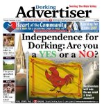 Dorking Advertiser wins todays battle of the front pages for me https://t.co/KxEAoEQAOs