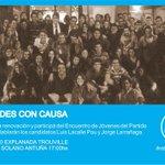 RT @juankturban: #RebeldeConCausa Este sábado 17hs Sumate! Hablan @luislacallepou @jorgewlarranaga Te esperamos! @jovenes404 http://t.co/kY4wHf8ajG