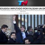 RT @todonoticias: AHORA en la TAPA de http://t.co/2hSqYOEbQd: BOUDOU IMPUTADO POR FALSEAR UN DNI http://t.co/ARmNuz5Qmv http://t.co/otgXfMGj9k