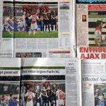 'Enthousiast, gretig, effectief' zijn enkele woorden uit de krant over #Ajax na duel met PSG. http://t.co/KkUIlDwHmD