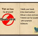 To protect yourself against Ebola, maintain good hygiene in homes, public gatherings and hospitals. http://t.co/6GjB9peSNT