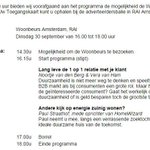 Op de @woonbeurs geef ik met @PaulStraathof een presentatie over #duurzaam wonen. Erbij zijn? Stuur me een berichtje! http://t.co/gjLghRD40q