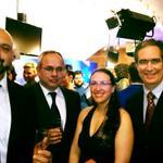 El equipo de #IniciodeJornada anoche en los #PremiosIris.- cc @SabadoShowuru http://t.co/iZ8kaTGfFL