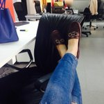 #CasualThursdays: My manager has a problem with my #shoes. RT if you like them, fav if you dont #Dubai #shoeselfie http://t.co/v3BgFP1Hhv