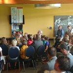 H.K.H. Prinses Laurentien in gesprek met ondernemers uit de IJmond en leerlingen Jan Campertschool. http://t.co/BUL8ZYFQSI
