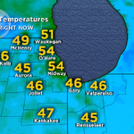 RT @MeganGlaros: The blues have it. Chilly temps again this morning. 40s for most. 50s for some. Make it a good Thursday #chicago http://t.co/fPCW1B4DqF