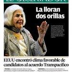 Los titulares del día en @ObservadorUY http://t.co/vKLTWot43O