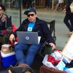 RT @nycjim: These guys in Sydney have waited 10 days get the very 1st iPhone 6. Then they'll give it away. http://t.co/zXz8QcSL76