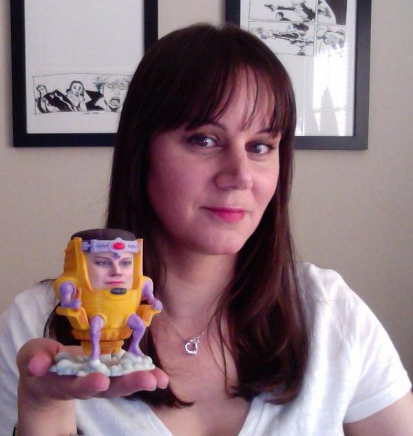 My MODOK arrived from @gentlegiantltd, (scanned & 3D printed with my face!). Do you think they got a good likeness? http://t.co/v9Llpytwek