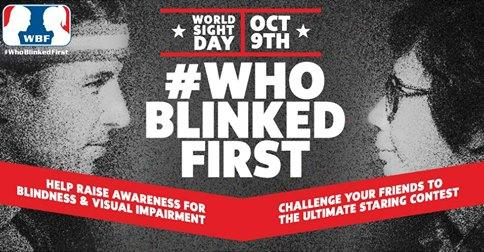 Are you up for the ultimate staring contest in support of #WorldSightDay?! http://t.co/LaJdcrEkDH #WHOBLINKEDFIRST http://t.co/CHcHFqq9il