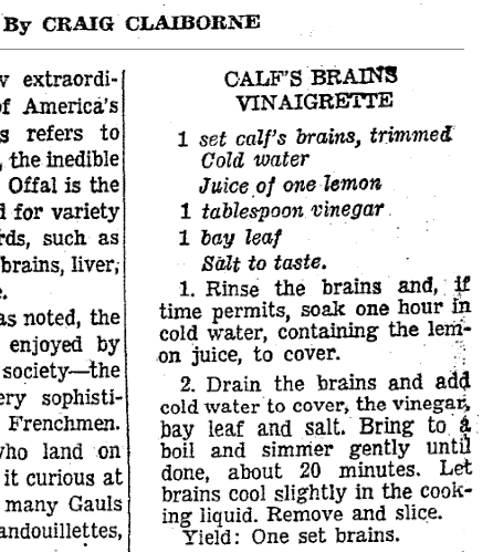 .@samsifton might have had a bad brains experience, but Craig Claiborne had a good one in '64 http://t.co/aiZNrtsFRb