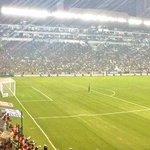 ¡Gran respuesta de los aficionados! Así luce esta noche el Estadio León. http://t.co/5H7PzCSY5a