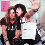 "Backstage LA Forum 'Pump' Tour ""@MariaR_AeroFan: Baes @IamStevenT & @sebastianbach"
