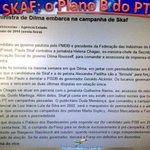 RT @PSDBpinheiros: Esse é o Skaf, a marionete da Dilma. Skaf é a Maria Vai Com as Outras da Dilma Roussef! #SkafNemPensar http://t.co/afHphM42Ka