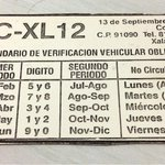 #Xalapa Q no se les pase la verificación vehicular, hoy último día p/los q tienen terminación 7 y 8! @VialidadXalapa http://t.co/hI7IZ7Er83