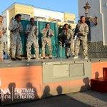 "Llegó ""La Amenaza Roja"" a #Mazatlán. HOY estará en la #Machado a las 6pm, en función gratuita. http://t.co/NV8qYTi15X http://t.co/x0j9GcJ6Ds"