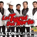 RT @RadioramaBajio: Si te gusta cantar...¡Soy el jefe, de jefes! Entonces, no te puedes perder el baile de @tigresdelnorte en León, Gto. http://t.co/L2Ns8fAiE3