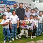 Gracias a @USTGlobal hoy los niños de la Casa Hogar San Antonio podrán ver en vivo a #LaFiera. #CorazónDeLeón http://t.co/ZB7X2O7buH