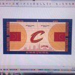 ICYMI : Here is the view of the new Cleveland Cavaliers court! http://t.co/0AQchuV87t