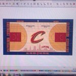 RT @CavsNtn: The Cavs will have a new court design this year featuring the Cleveland skyline. Awesome. http://t.co/YJXdF0NF4V