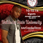 Where will you be on October 10th?? #VState18 #ValdostaState http://t.co/t0vdOJhsve