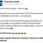 #FearTheTractor #auspol #qanda #Australia #terrorism #madmonk #Abbott http://t.co/3aIdFGrF4b