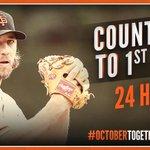 RT @SFGiants: 24 hours until…#OrangeOctober #SFGiants #OctoberTogether http://t.co/TiNrvbEIkg