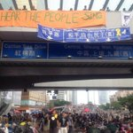 RT @Alan_Yu039: Protestors made new street signs for Hong Kong #OccupyCentral #hongkongdemocracy #art #UmbrellaRevolution http://t.co/UyX9h…