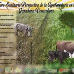 #Foro #Seminario #Agroforesteria en la #Ganaderia venezolana. 31 de octubre #FCV #UCV #Maracay http://t.co/hoAQ321411