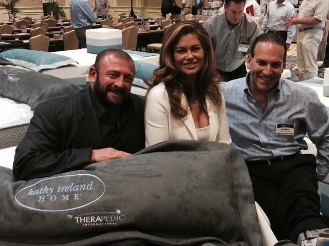 kathy ireland @kathyireland: RT @JonCarrasco: Paul & me in our foot boots R getting comfort on a kathy ireland by @therapedic Mattress & @kathyireland http://t.co/AntQ3…