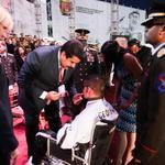 RT @fororebelde: #FOTOS @NicolasMaduro entrego reconocimiento y ascensos en aniversario del @ceofanb http://t.co/aOKYAsEw2J