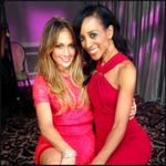 RT @accesshollywood: .@shaunrobinson just wrapped up her interview with @JLo | Be sure to watch @accesshollywood on Wednesday #Booty http:/…