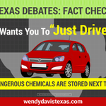 RT @WendyDavisTexas: .@GregAbbott_TX ruled chemical companies can keep locations of dangerous chemicals secret from Texans. #NotMyTexas http://t.co/FMPLeANuWh