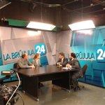 En vivo en Brujula 24 de Bahia Blanca, @paulabisiau cuenta sobre el plan de movilidad sustentable de la CABA http://t.co/ry1XjsUCtC