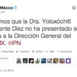 RT @diario24horas: #URGENTE La Directora del IPN aún no renuncia aclara la @SEP_mx http://t.co/pACRFQ5r2i http://t.co/FfXH3dJEVG