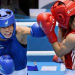 POWER PUNCH CHARISMA CONTINUES: Indian boxer M C #MaryKom wins gold medal in the #AsianGames2014 http://t.co/zatNUxDlWC