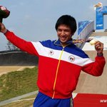 Congrats again to Daniel Caluag for winning the Philippines first gold medal! http://t.co/a79we1S6O7 #AsianGames2014 http://t.co/ZlAHSlIPNx