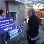RT @CSVWArmenia: People joining the fight against #domesticViolence in #Armenia #Oct1Armenia #oct1 http://t.co/YXW72QNPaz