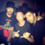 Drake last night at Lost and Found in #Toronto. http://t.co/Nq8roBBB7k