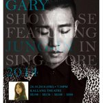 RT @soompi: Leessang's Gary to Hold Solo Showcase with Jung In in Singapore- for more info http://t.co/PMsWAWGrvV http://t.co/EuIOGDoQVv