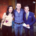 Thank u Roberto Campanella for joining @CP24 @KyleChristie_TV & I. @proartedanza 10th anniv. Oct 1-4 @HarbourfrontTO http://t.co/sNAg46BynP