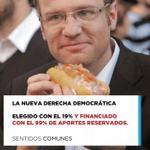 RT @jjcc_chile: Elegido por el Binominal (19%) y financiado por los aportes reservados (99%); nuestro amigo @felipekast http://t.co/ltHezTrPMX