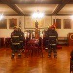 Primera guardia de honor para nuestra Primera Antigüedad, don Gustavo González Ortiz (Q.E.P.D) http://t.co/WWMdZrwUqR