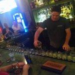 A kind man bought every @royals fan at the bar a shot!! #BeRoyal http://t.co/zbssrOeEDJ