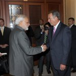 RT @MIB_India: PM Shri @narendramodi meeting the Speaker of the US House of Representatives, Mr. John Boehner in Washington DC. http://t.co/0zU8aqWgWf