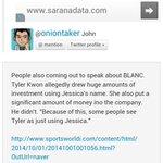 RT @TeamSoneINA: [TRANS by Oniontaker] Jessica-BLANC-Tyler Kwon http://t.co/Db2NaUhNBS http://t.co/Qm5B5ilOVr