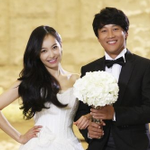 """RT @soompi: Wedding Photo of Cha Tae Hyun and Victoria for """"My Sassy Girl 2″ Released http://t.co/yLT1dzvv96 http://t.co/Txnh0uXRlX"""