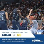 RT @TheGUIDONSports: NU has forced a do-or-die match to determine one of the finalists in this years UAAP Mens Basketball Tournament. http://t.co/Vg5Fcz6IYW